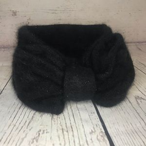 Mossimo Black Bow Winter Headband